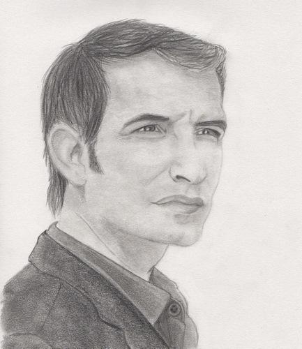 Jean Dujardin por drawingmydream